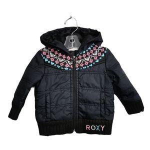 SIZE 6-9 MONTHS ROXY, Hooded Jacket EUC